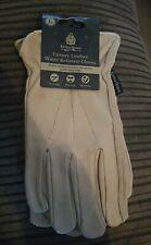 Kent & stowe Mens (L) Luxury Leather Water Resistant Gardening Gloves