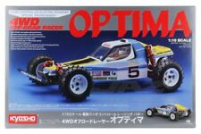 Kyosho 30617 1/10 Scale EP RC 4WD Vintage Racing Buggy Off Road Racer Optima Kit