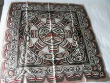Skemo Canada Eleanor Paine Scarf 1St Nation Art Indian Sunface