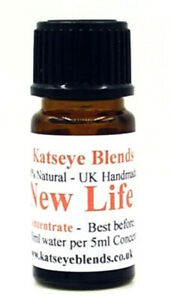New Life Essential Oil Water Soluble Concentrate x 5ml 100% Natural