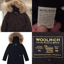 Woolrich G'S LUXORY ARTIC PARKA marrone, Taglia L - DONNA