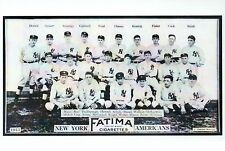 New York Yankees Baseball Team Photograph 1913 , MLB --- Modern Stadium Postcard