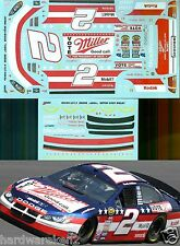 NASCAR DECAL # 2 VOTE MILLER HIGH LIFE 2004 DODGE RUSTY WALLACE JWTBM