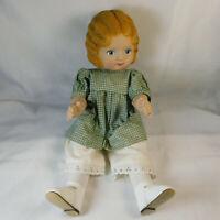 "Daisy Kingdom Pansy Doll Daisy 18"" Blond 1991 w/ Outfit"