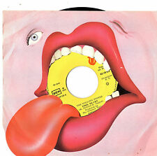 """Rolling Stones - Fool To Cry / Crazy Mama 7"""" Single 1976"""