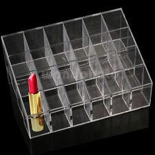 24er Make Up Lippenstift Organizer Ständer Display Box Aufbewahrung Ordnung