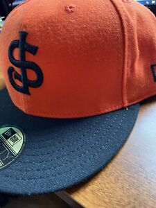 San Jose Giants 59fifty 7 3/4 Orange Fitted Hat