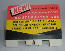 Muy raras Corgi Toys década de 1960 Tienda Pantalla routemaste Sign-Excelente condición de menta