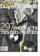 OUTSIDE, BUYER'S GUIDE,  WINTER, 2015 /2016  ( 297 PRODUCTS TESTED & RATED )