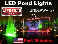 300 Underwater LED's ---- Pond or Swimming Pool Lights ---- SUBMERSIBLE ip68 NEW