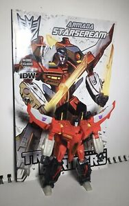 Transformers Generations Deluxe Class Armada Starscream *COMPLETE, W/ COMIC*