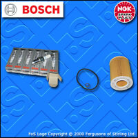 SERVICE KIT for BMW 5 SERIES (E39) 525I BOSCH OIL FILTER NGK PLUGS (2000-2003)