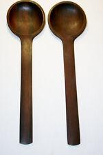 DANSK Rosewood JHQ Early Serving Spoons -- Jens Quistgaard Denmark Modern