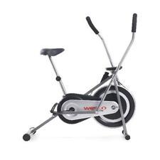 Weslo Cross Cycle Upright Exercise Bike with Padded Saddle and Inertia-Enhanced