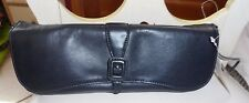 Ladies black leather clutch shoulder bag from Worthington NWT