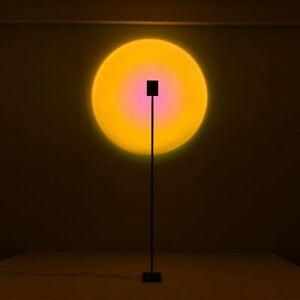 The sun never sets LED Floor Lamp Rainbow Sunset Projection Table Lamp NEW