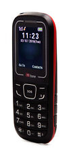 TTfone TT110 Cheapest Big Button Mobile Phone with SOS Red - EE Pay As You Go