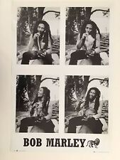 BOB MARLEY, 'ENJOYING A SMOKE' RARE AUTHENTIC 2003 POSTER