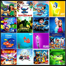 A3/A4 Size * KIDS CHILDREN MOVIE Cartoon animation POSTERS Print Art * Gift  #5