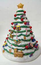 Partylite Christmas Market Evergreen Tree Tealight Holder w638