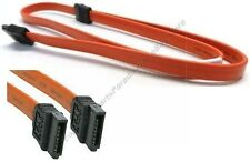 "Lot50 24""Serial ATA/SATA internal HD/CD/DVD/CDRW/DVDRW Cable/Cord 150mbs{RED"