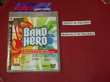 BAND HERO PS3 PLAYSTATION 3 PAL NUOVO SIGILLATO