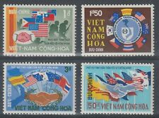 Vietnam 1968 #327-30 Flags of Viet Nam's Allies - MNH