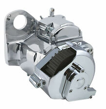 Ultima Polished 6-spd Right Side Drive Transmission for Harley & Custom, Cable