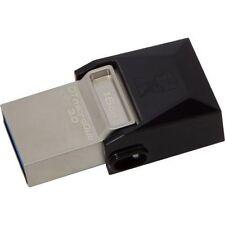 Kingston DataTraveler 16GB USB Flash Drive - DTDUO316GB