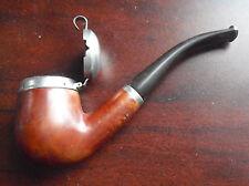 "Vintage RBA Mockba Russian Briar Lidded Estate Pipe 5 1/2"" Long"