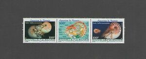 NEW CALEDONIA:  Sc.872 /***Beautiful MARINE LIFE**/ Strip of 3 / MNH