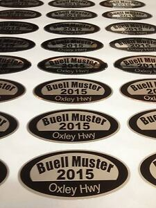 100 Bumper Stickers Printed Full Colour Business Club Promotional Decal Car