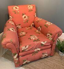 Vintage Floral Project Arm Chair