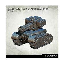 Kromlech Entièrement neuf dans sa boîte Légionnaire arme lourde Plate-Forme: Gatling Autocannon (1) KRM116
