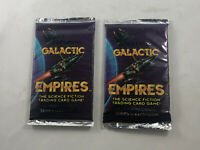 1995 COMPANION GAMES GALACTIC EMPIRES UNIVERSE EDITION LOT OF (2) SEALED PACKS