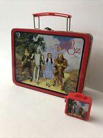 The Wizard Of Oz 1998 Lunch Box Plus 1999 Mini Lunch Box