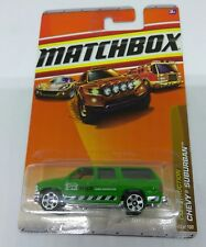 2010 MATCHBOX 1/64 SCALE DIE CAST BODY CHEVROLET SUBURBAN MBX HOME INSPECTOR SUV