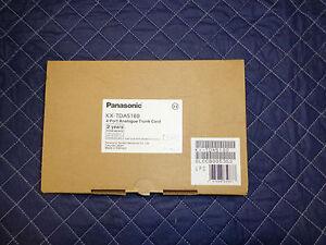 Panasonic KX-TDA5180 4 port CO Trunk Lines NEW