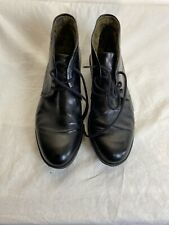 Fly London Ladies Lace Up Black Patent Leather Ankle Boots Uk 6 Ref Ba20