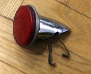 RARE VINTAGE 60s CAR BYKE BYCICLE FENDER LAMP REFLECTOR CARWALLUX IGM No. 36