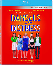 Damsels in Distress Blu-ray Gerwig Brody FACTORY SEALED BRAND NEW FREE SHIP US