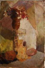 Russian Ukrainian Oil Painting Abstract Still Life