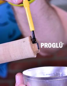 ProGlu Premium Rod Building Epoxy - 2 parts bonding epoxy - Regular and Fast Set