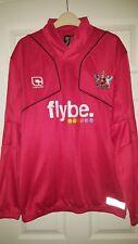 Mens Football Shirt - Exeter City FC - PLAYER WORN TRAINING - Jumper Sponsored