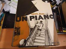 UN PIANO   BD DE LOUIS JOOS  FUTUROPOLIS