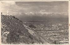 * CHILE - Santiago - Visto desde el San Cristobal 1951