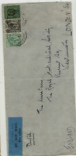 Straits  Settlements  cover to  England           MS0221