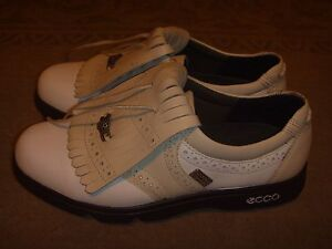 Ecco Gore-Tex Waterproof Golfing Shoes Youth Size 2