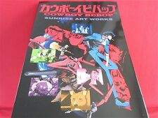 Cowboy Bebop TV series POD Sunrise art works book