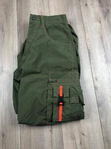 Macgear Double Convertible Green Cargo Pants Size 29x30